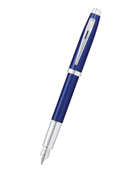 Sheaffer® 100 Glossy Blue Lacquer Fountain Pen