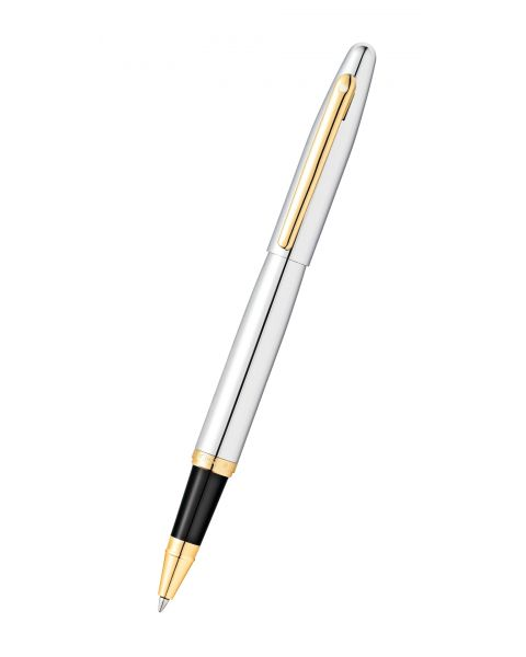 Sheaffer VFM Chrome with Gold-Tone Rollerball Pen