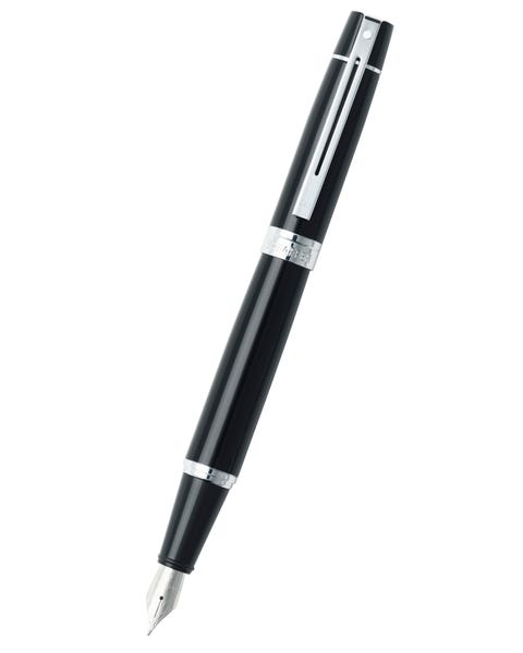 Sheaffer® 300 Glossy Black LacquerFountain Pen