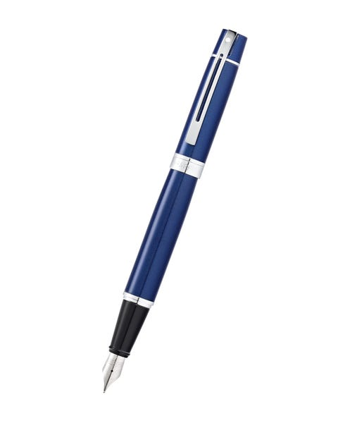 Sheaffer® 300 Glossy Blue Lacquer Fountain Pen