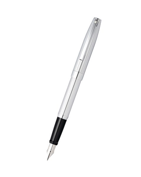 Sheaffer Sagaris Chrome Fountain Pen