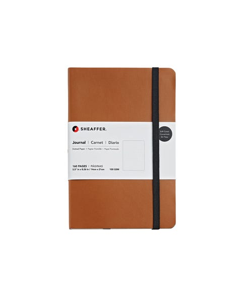 Sheaffer® Medium Dotted Journal in Caramel Brown