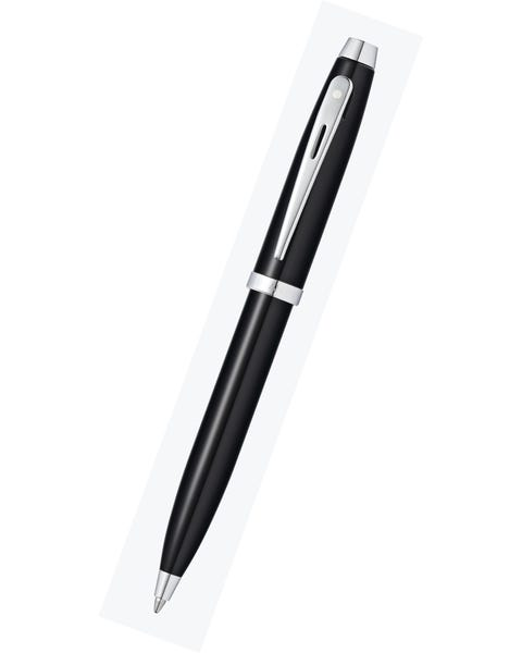Sheaffer® 100 Glossy Black Lacquer Ballpoint Pen