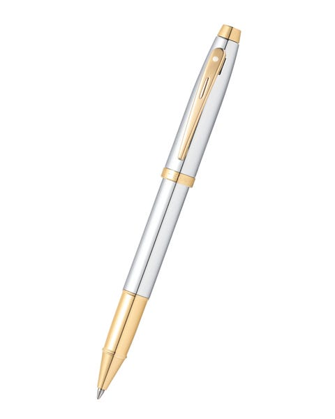 Sheaffer® 100 Chrome with Gold Tone Rollerball Pen