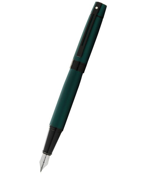 Sheaffer® 300 Matte Green Lacquer Fountain Pen