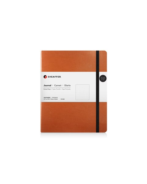 Sheaffer® Dotted Large Journal in Caramel Brown