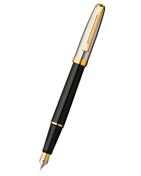 Sheaffer® Prelude® Black Onyx Lacquer Barrel and Chased Palladium Cap Fountain Pen
