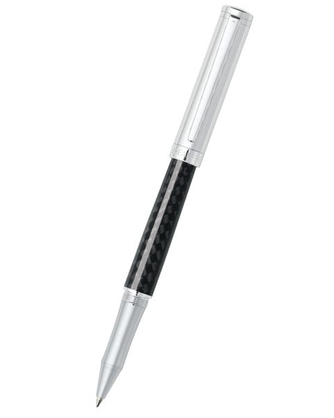 Sheaffer® Intensity® Carbon Fiber Barrel and Chrome Cap Rollerball Pen