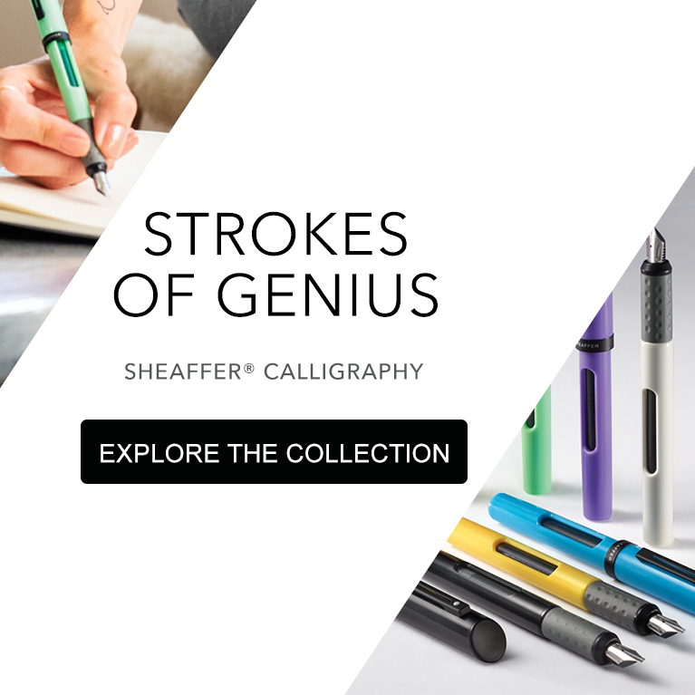 Stroke of Genius: Sheaffer Calligraphy